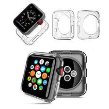 8 x Smartwatch Housse de protection 38 mm étui TPU pour Apple Watch Caoutchouc Montre iWatch Case