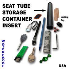 31mm Bicycle Seat Tube Storage, Hidden Container Bike Seat Post Storage