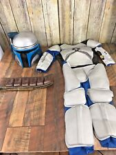 Youth Star Wars Deluxe Jango Fett Cosplay Costume Jango Fett Helmet Disney S 4-6