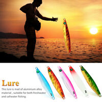 Fishing Lures Natural 40g Lead Casting Jig Metal Slice Fishing Lures Spinning GS