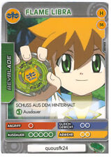 H 56 Flame Libra - DeAGOSTINI Beyblade Battle Card Collection 2011 (6)