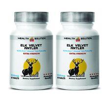 Deer Antler Velvet Extra Strength Anti-Aging Boost Enhancement Sex Libidio 2B