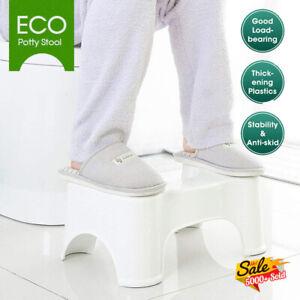 Sit & Squat Squatty Potty Stool Eco NON-SLIP Toilet Step Stool Healthy Bathroom
