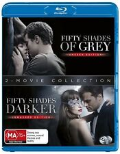Fifty Shades of Grey / Fifty Shades Darker (UV) NEW B Region Blu Ray