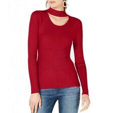 INC NEW Women's Long Sleeve Cutout Ribbed Mock Neck Sweater Top TEDO