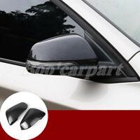 Für BMW X1 F48 ABS Karbonfaser-Stil Spiegelkappen Außenspiegel Rahmen 2016-2020