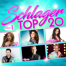 CD Schlager Top 20 Volume 1 von Various Artists