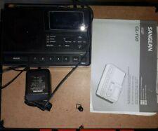SANGEAN CL-100 S.A.M.E. WEATHER HAZARD ALERT ALARM CLOCK RADIO with Box