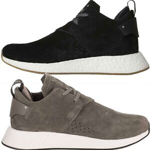 NEW Adidas Originals Men's NMD C2 Lifestyle Suede Low Top Casual Sneakers Shoes