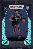 2020-21 Panini NBA Hoops #216 Anthony Edwards RC Teal Explosion SP Timberwolves