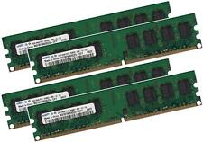 4x 4GB 16GB RAM PC Speicher 800 Mhz DDR2 PC2-6400U 240 pin DIMM Arbeitsspeicher
