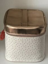 Zoella Beauty Bag Polka Dot Vanity Case Cosmetic Bag Youtuber