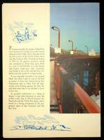 Vintage Railroad San Francisco Overland Beverage Dining Menu 1949
