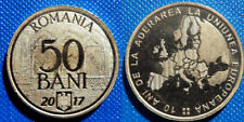 50 Bani 2017 UNC Commemorative Coin Romania Low Shipping! Combine FREE!