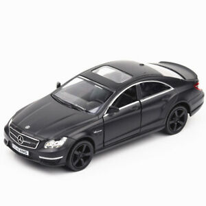 1:36 CLS 63 AMG Model Car Diecast Toy Vehicle Kids Pull Back Black Collection