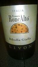 RIBOLLA GIALLA VIGNETO RONCALTO 2014 - LIVON