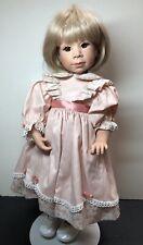 """17"""" Good Kruger Limited Vinyl Doll """"Little Ones"""" Adorable Blonde Girl W/ Box"""