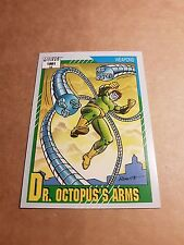 MARVEL UNIVERSE 1991 SERIES 2 CARD #136 DR. OCTOPUS'S ARMS