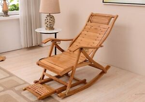 Modern Wood Chair Back recliner Indoor Outdoor Furniture Portable Cushion Home