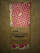 New listing 4 Trader Joe's Waxed Cotton Food Bags