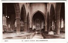 WELLINGBOROUGH - St Luke's Church - Mayfair #22877 1918 used Real Photo postcard