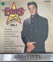 ELVIS PRESLEY DOUBLE DYNAMITE VOL 1 LP (CAMDEN CDS 1182) EX / EX
