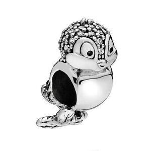 Bird S925 European silver charm pendant bead For silver bracelet Chain bangle