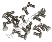20-SS #10-24 X 3/8 HH HEX HEAD MACHINE SCREWS STAINLESS STEEL 18-8 BOLTS PARTS