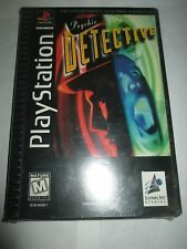 Psychic Detective (Sony PlayStation 1 ps1, 1996) NEW Factory Sealed RARE