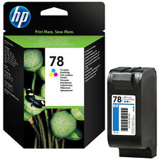 ORIGINAL 2016 DATE HP 78 C6578AE XL 38ML 1200 PAGE COLOUR CARTRIDGE FAST POSTAGE