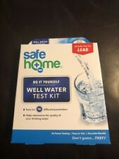 00006000 Safe Home Diy Do It Yourself Well Water Test Kit Lead + 16 Other Parameters