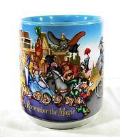 "VTG 1996 Walt Disney World 25th Anniversary ""Remember The Magic"" Coffee Mug Cup"