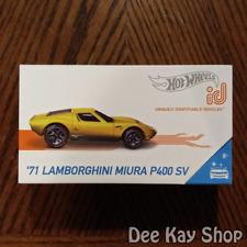 '71 Lamborghini Miura P400 SV - Factory Fresh - Hot Wheels id (2019)