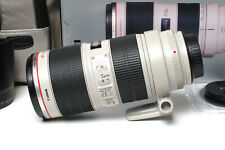 Canon EF 70-200mm f/2,8L IS II USM mit OVP. - im Topzustand!
