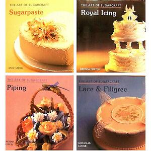 Cake Decorating Art of Sugarcraft Lace & Filigree by Nicholas Lodge (Hardcovers)