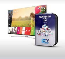 1-12 MOIS IPTV PREMIUM ABONNEMENT FULL HD SMART TV,MAG,KODI,IOS,M3U,VOD