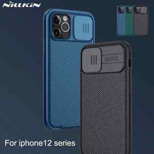 NILLKIN Camera Protection Phone Case For iPhone 12 Mini 12/12 Pro & 12 Pro Max