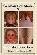 German Doll Marks and Identification Book by Jurgen Cieslik & Marianne Cieslik