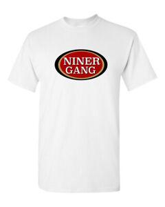 Niner Gang Logo 49ers Football T-Shirt Game Day Tee Shirt New