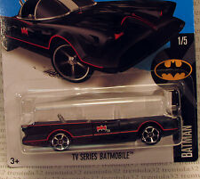 NO WINDSHIELD ERROR VARIATION 1966 TV SERIES BATMOBILE 2016 BATMAN HOT WHEELS