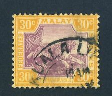 Used Postage Malayan & Straits Settlements Stamps