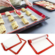 Non-Stick Silicone Rolling Mat Baking Mat Pastry Clay Pad Sheet Liner Durable FR