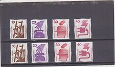Germany Michel 695c-699c & 695d-699d MNH
