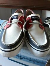 Sperry top sider  bahama  red white navy 🧿🧿🧿🧿🧿🧿🧿🧿