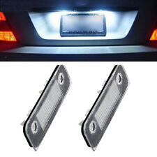 2x SMD 18-LED License Plate Light Lamp Bulb White For Ford Fusion Fiesta Mondeo