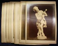 19 original Fotografien zum Thema Kunst und Kultur um 1880 Architektur sf