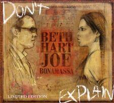 Beth Hart & Joe Bonamassa Don't Explain LIMITED EDITION DIGIPAK BONUS TRACK RAR