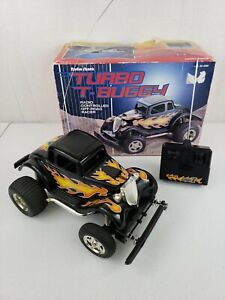 RARE Vintage Radio Shack Turbo T-Buggy Radio Controlled Off Road Racer W/ Box