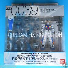 robot gundam fix figuration 0039 RX 78NT 1 ALEX Bandai 2008 raro nuovo mai usato