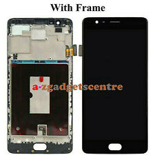 For OnePlus 1 2 3 5 LCD Touch Screen Digitizer Assembly Replacement +Frame Black